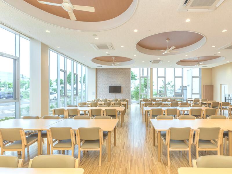 第一たちばな学園施設内 食堂